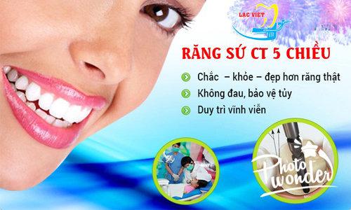 khuyến mại bọc răng sứ tại nha khoa lạc việt