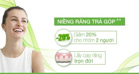 Niềng răng trả góp tại nha khoa Lạc Việt